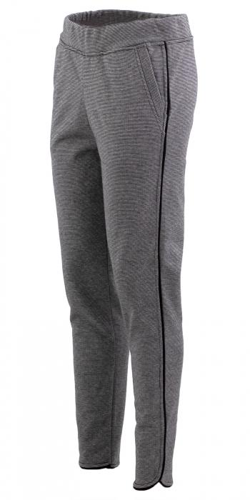Pantalon Dama LAZO Gri cu dungi 0