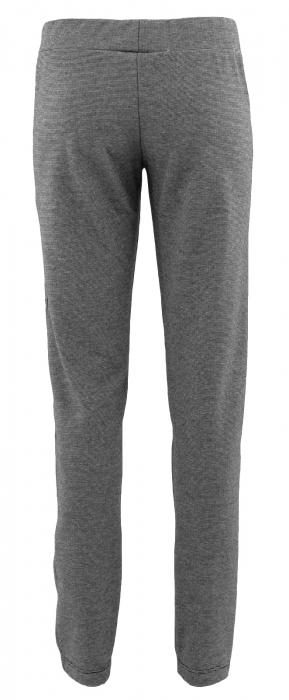 Pantalon Dama LAZO Gri cu dungi negre [2]