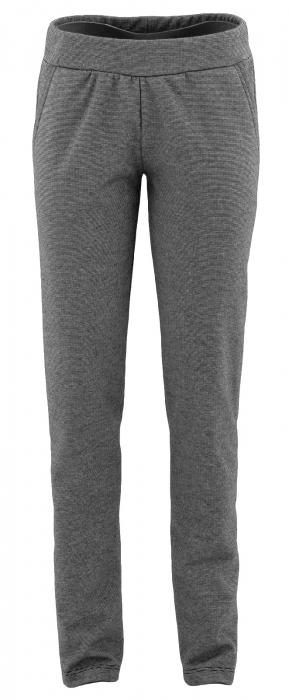 Pantalon Dama LAZO Gri cu dungi negre [1]
