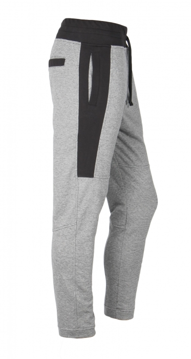 Pantalon Bărbați LAZO TRACK PANTS GNJ Gri cu Negru 0