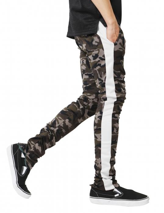 Pantaloni Bărbătești LAZO CAMOUFLAGE TRACK PANTS, White 2