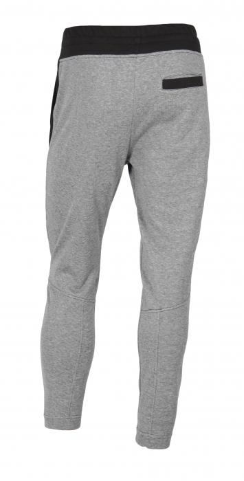 Pantalon Bărbați LAZO TRACK PANTS GNJ Gri cu Negru 2