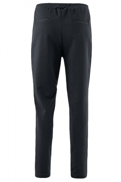 Pantaloni damă, LAZO LINE, Negru cu verde 2