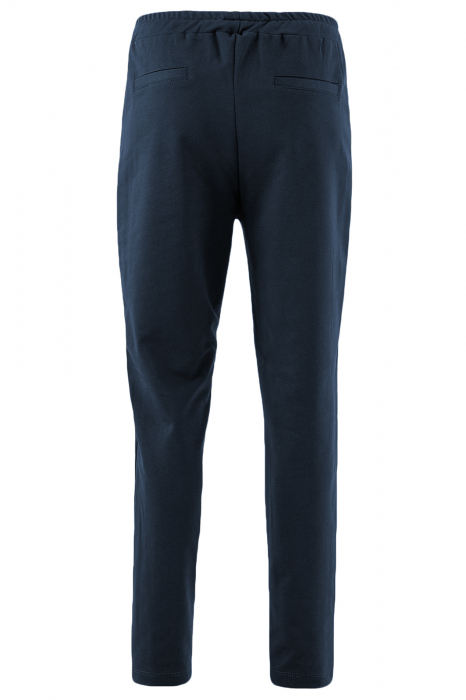 Pantaloni damă, LAZO LINE, Bleumarin cu rosu 2