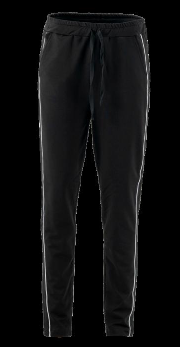 Pantaloni cu dungi albe laterale 1