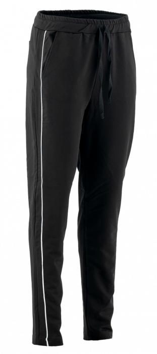 Pantaloni cu dungi albe laterale 0