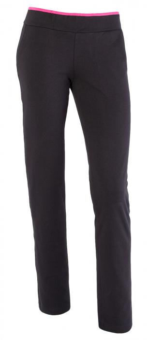 Pantalon dama bleumarin cu ciclam [1]