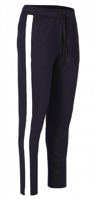 Pantaloni Damă LAZO AIR LINE Bleumarin cu Alb 0
