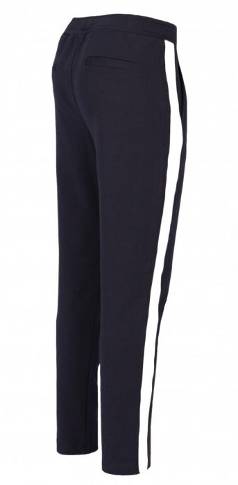 Pantaloni Damă LAZO AIR LINE Bleumarin cu Alb 1