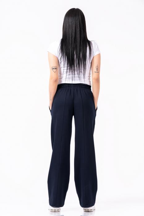 Pantaloni dama - Bleumarin [1]