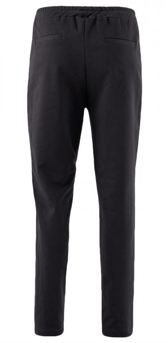 Pantaloni Dama LAZO AIR LINE, Negru cu Alb 2