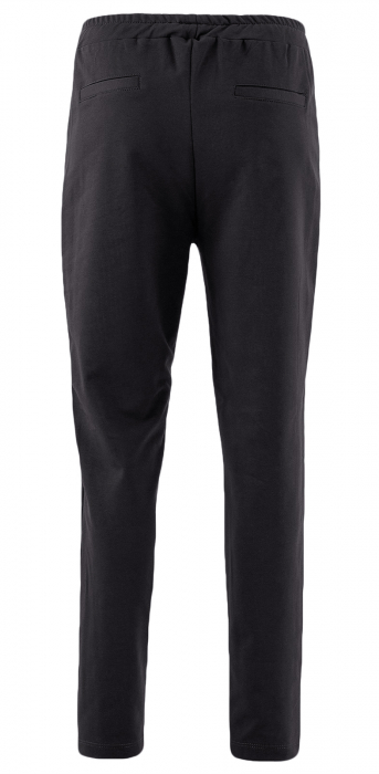 Pantaloni Dama LAZO LINE, Negru cu ciclam 2