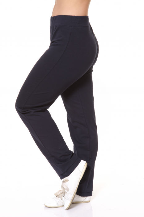 Pantaloni Dama LAZO SIMPLE BIG , Bleumarin 3