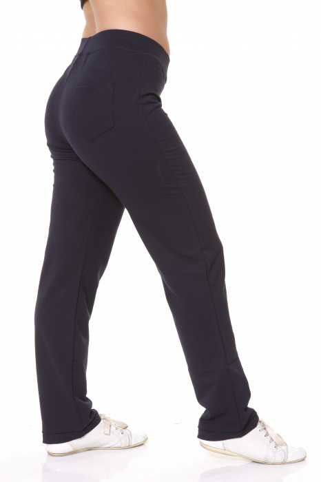 Pantaloni Dama LAZO SIMPLE BIG , Bleumarin 4