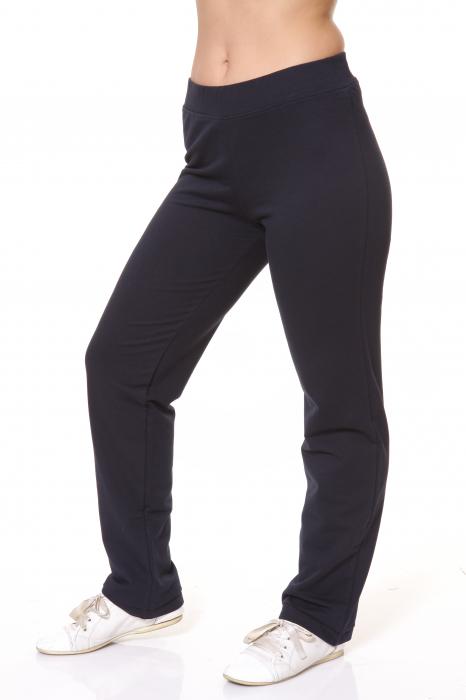 Pantaloni Dama LAZO SIMPLE BIG , Bleumarin 2