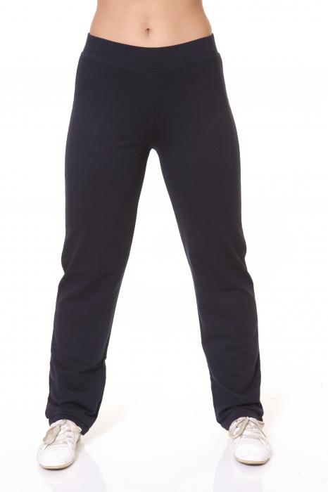 Pantaloni Dama LAZO SIMPLE BIG , Bleumarin 0