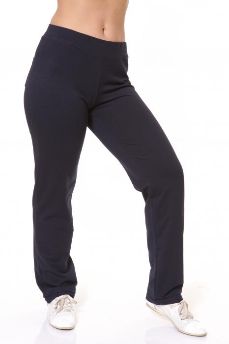Pantaloni Dama LAZO SIMPLE BIG , Negru 1
