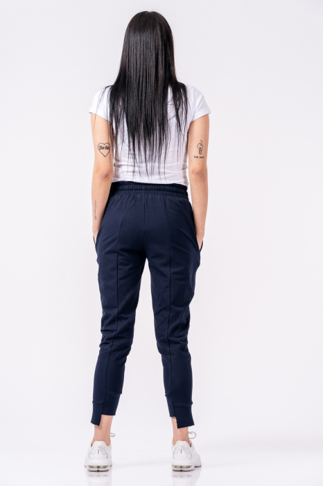 Pantaloni dama Lazo Spring - Bleumarin 1