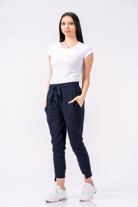 Pantaloni dama Lazo Spring - Bleumarin 0