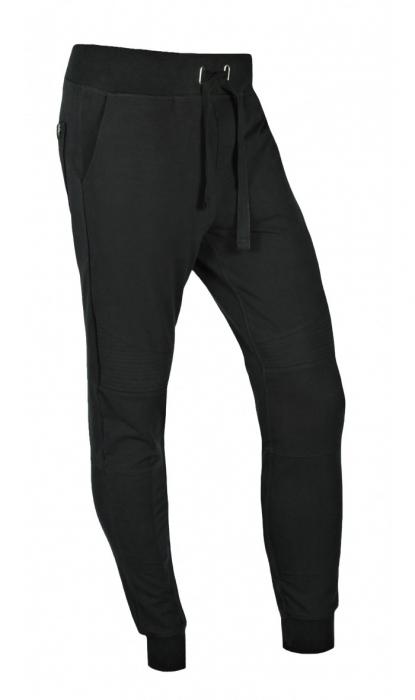 Pantaloni LAZO BIKER STYLE, Negru 1