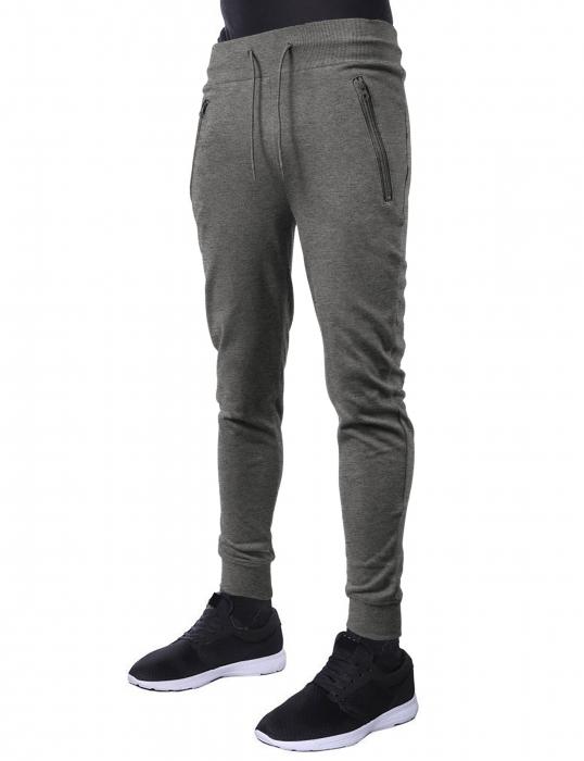 Pantaloni LAZO JOGGERS, Gri deschis 1