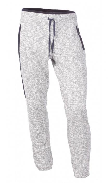 Pantaloni Bărbătești LAZO SMART FIT Gri cu Bleumarin 0