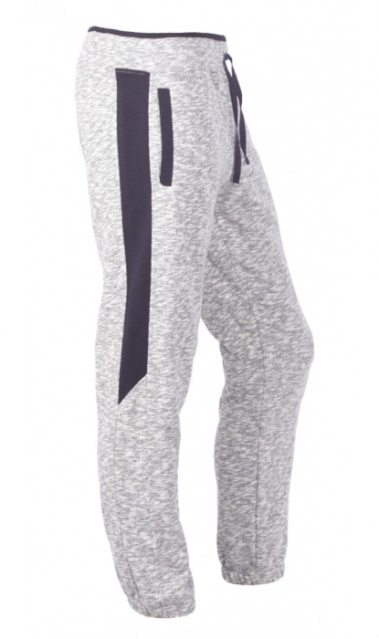 Pantaloni Bărbătești LAZO SMART FIT Gri cu Bleumarin 1
