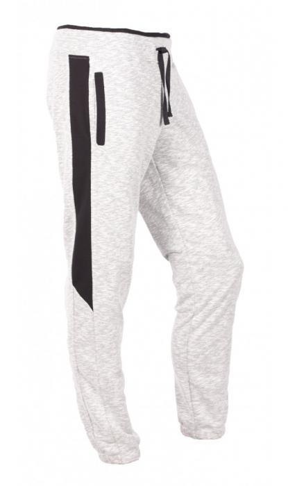 Pantaloni LAZO SMART FIT, Gri cu Negru 0