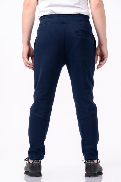 Pantaloni casual barbati - Bleumarin [2]