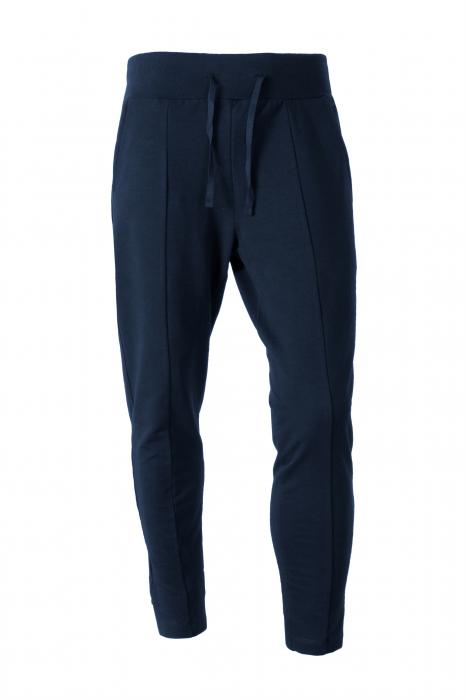 Pantalon casual - Bumbac bleumarin [1]
