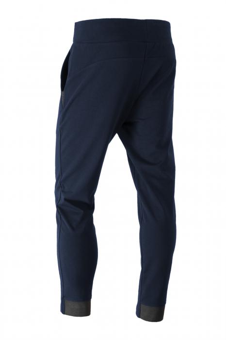 Pantalon casual - Bumbac bleumarin [2]