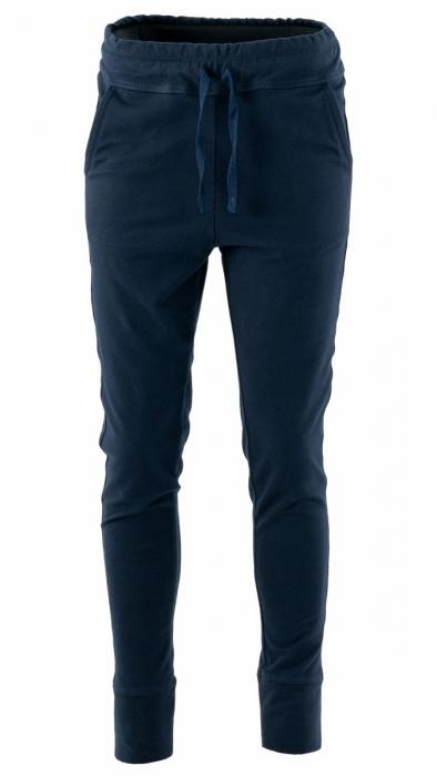 Pantaloni sport cu tur, Kara, bumbac, bleumarin 1