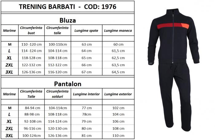 Trening Barbati - Bleumarin 7