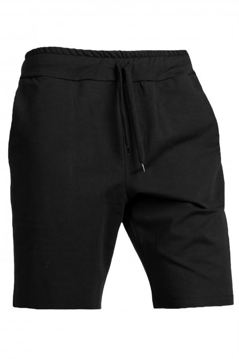 Pantaloni scurti barbati negru 0