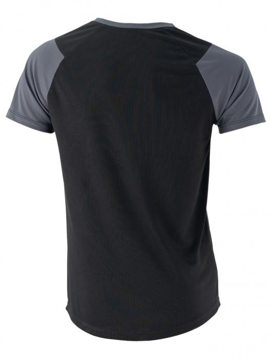 Tricou negru cu gri 1
