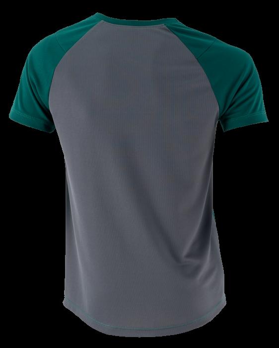 Tricou verde cu gri 1