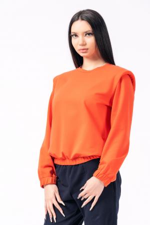 Bluza orange cu umeri [0]