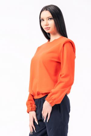 Bluza orange cu umeri [1]