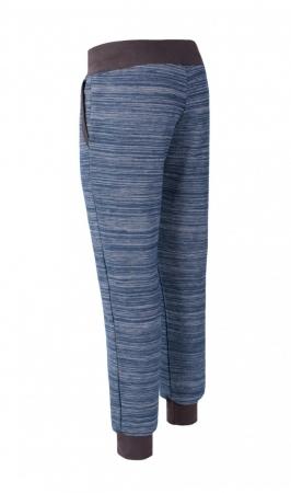 Pantalon Damă LAZO EASY & SPORT ANA Albastru cu Negru2