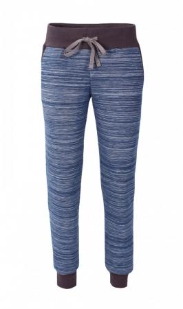 Pantalon Damă LAZO EASY & SPORT ANA Albastru cu Negru0