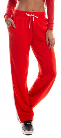 Pantalon Damă MISS LAZO IN RED0
