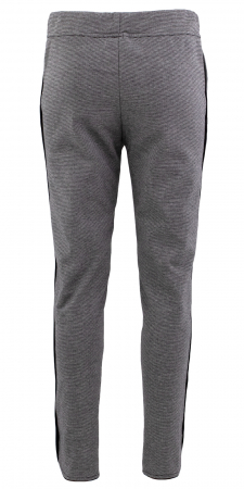 Pantalon Dama LAZO Gri cu dungi2