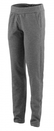 Pantalon Dama LAZO Gri cu dungi negre [0]
