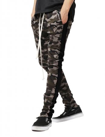 Pantaloni Bărbătești LAZO CAMOUFLAGE TRACK PANTS,Black0