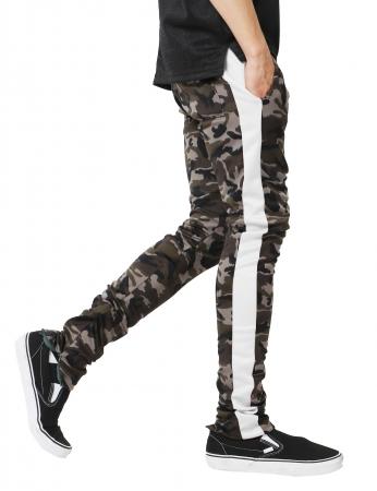 Pantaloni Bărbătești LAZO CAMOUFLAGE TRACK PANTS, White2