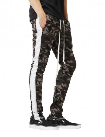 Pantaloni Bărbătești LAZO CAMOUFLAGE TRACK PANTS, White1