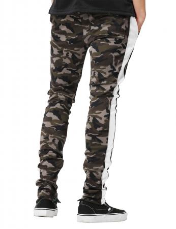 Pantaloni Bărbătești LAZO CAMOUFLAGE TRACK PANTS, White3