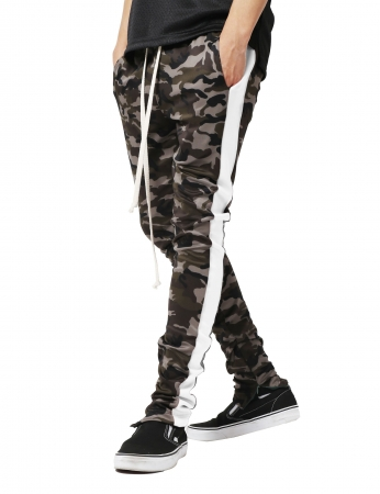 Pantaloni Bărbătești LAZO CAMOUFLAGE TRACK PANTS, White0
