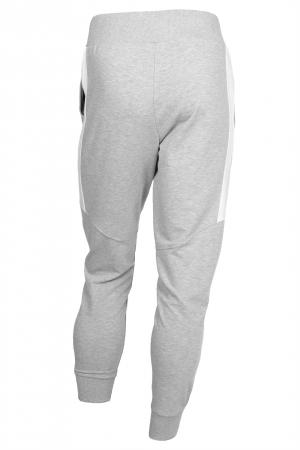 Pantaloni barbati - Gri cu negru4
