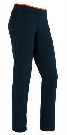 Pantalon bleumarin cu portocaliu [0]